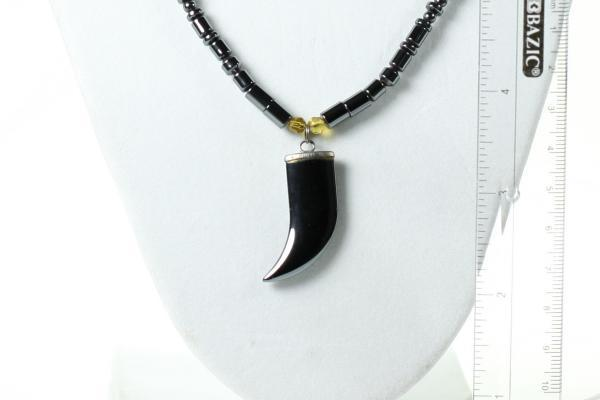 Hematite necklace & pendant