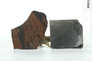 Mahagony obsidian Slab and Obsidian Slab